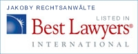 Best Lawyers International Jakoby Rechtsanwälte
